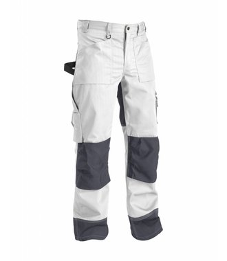 Trousers without Nailpockets White/Grey