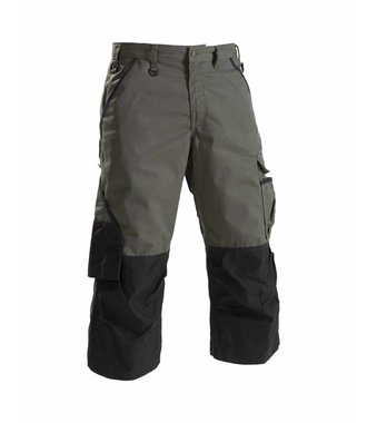 Pirate garden trouser Army green/Black