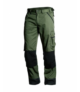 Garden trousers Army green/Black