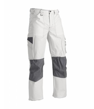 Paint Trousers White