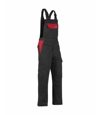 Industry BIB Overall Black/Red