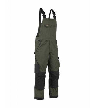 Cotte à bretelles Paysagiste : Vert armée/Noir - 265418354699