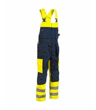 Bib Overalls High vis Yellow/navy blue