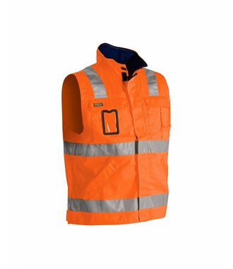 Gilet sans manches HV : Orange/Marine - 850518045389
