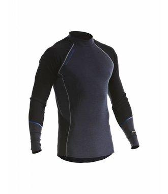 WARM 100% MERINO Unterwäsche Oberteil  : Gey/Black - 489717329699