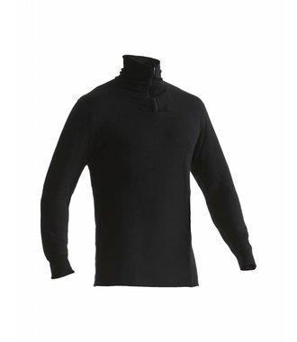 XWARM 70% MERINO Pelz Unterhemd  : Schwarz - 489417069900