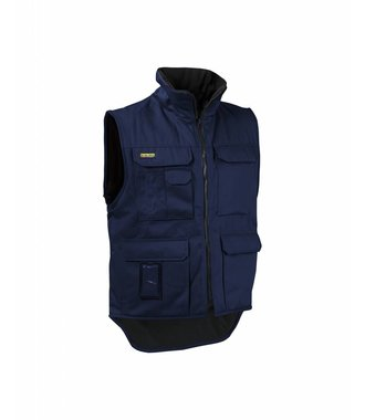 Body warmer Navy blue