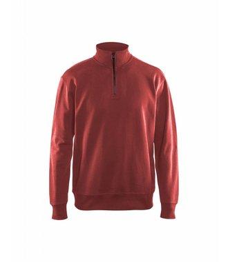 Sweatshirt half zip : Rot - 336911585600