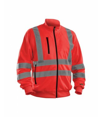 Highvisibility sweatshirt Red highviz