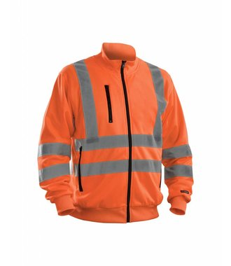 Highvisibility sweatshirt Orange