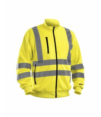 Highvisibility sweatshirt Yellow