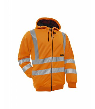 Hooded Sweater High Visibility Orange