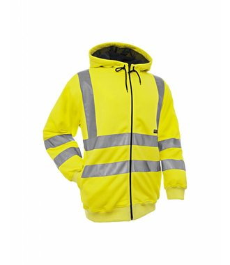 Hooded Sweater High Visibility Yellow