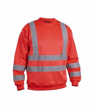 Sweatshirt High Vis Red highviz