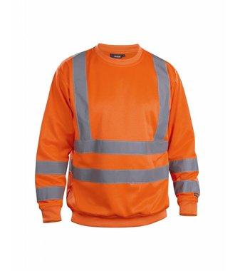 Sweatshirt High Vis Orange