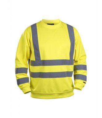 Sweatshirt High Vis Yellow