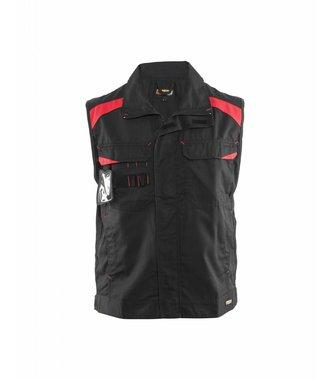 Industry waistcoat Black/Red
