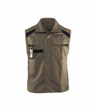 Industry waistcoat Khaki/Black