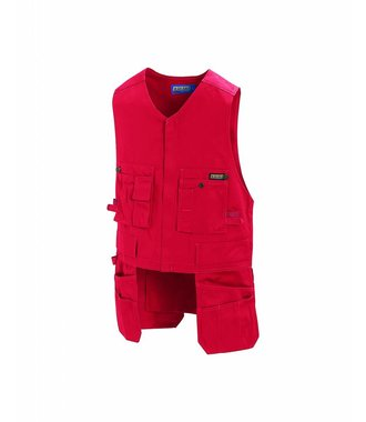 Gilet Porte-Outils : Rouge - 310518605600
