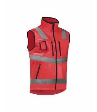 Gilet Softshell Haute-visibilité Cl.2 : Rouge highviz - 304925175500