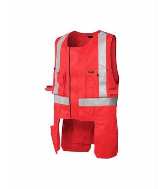 Gilet Porte-Outils HV : Rouge highviz - 302718045500
