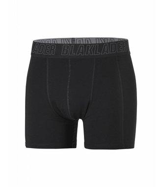 Boxer shorts 2-pack Black