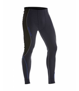 WARM 100% MERINO Long John : Gey/Black - 184917329699