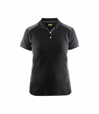 Poloshirt Dames : Zwart/Grijs - 339010509994
