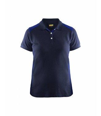 Poloshirt Dames : Marineblauw/Korenblauw - 339010508985