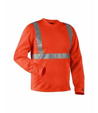 Highvisibility Langarm Shirt Kl. 2 : High Vis Rot - 338310115500