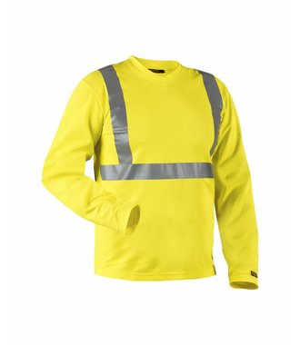 Highvisibility long sleeve t-shirt Yellow