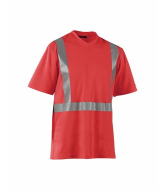 Higvisibility t-shirt : High Vis Rot - 338210115500