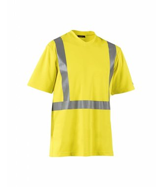 Higvisibility t-shirt Yellow