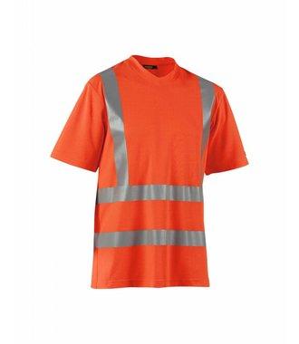 T-Shirt Haute-Visibilité : Orange - 338010705300