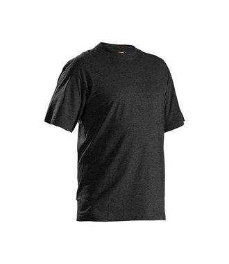 Pack x5 T-Shirts : Black melange - 332510539991