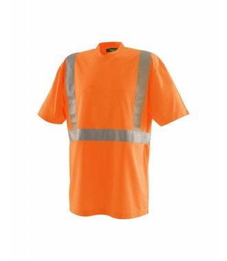 High vis T-Shirt Kl. 2 : Orange - 331310095300
