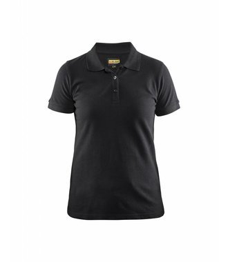 Poloshirt Dames Piqué : Zwart - 330710359900