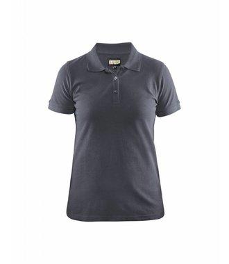 Ladies Polo Shirt Grey