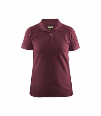 Ladies Polo Shirt Wine red