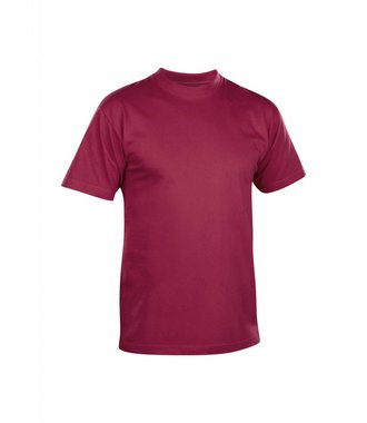 T-SHIRT Wine red