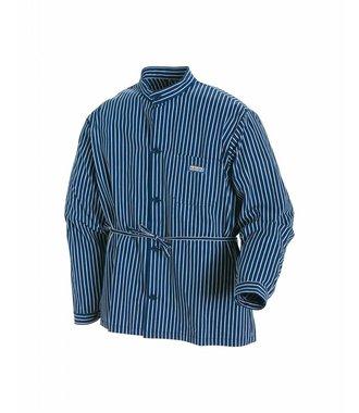 Timmermansoverhemd : Marineblauw/Wit - 325011258810