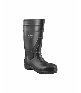 Safety Rubber Boot Black