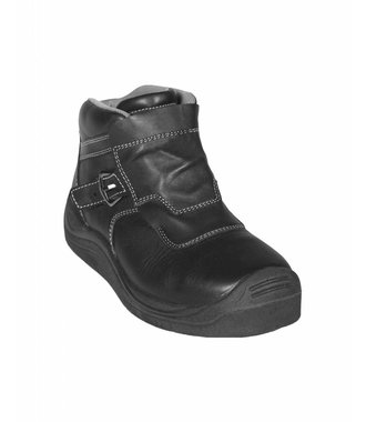 Safety boot heat resistant Black