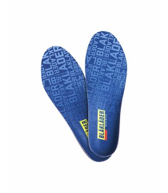 Heat moldable insole Navy blue