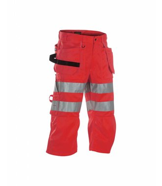 High visibility pirate shorts Red highviz