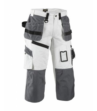 X1500 Painters Pirate Trouser White/Grey