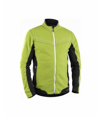 Micro fleece jack : Lime/Back - 499710104399