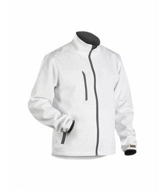 Light Soft shell Jacket White/Grey