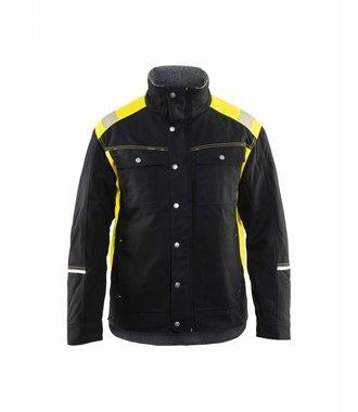 Veste hiver Visible : Noir/Jaune - 491513709933