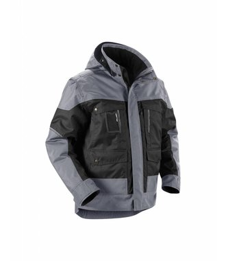 Winterjacket Black/Grey